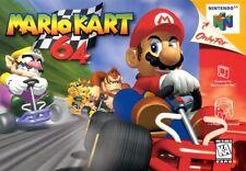 Nintendo 64 N64 Mario Kart 64 Video Game Cartridge *Cosmetic Wear*