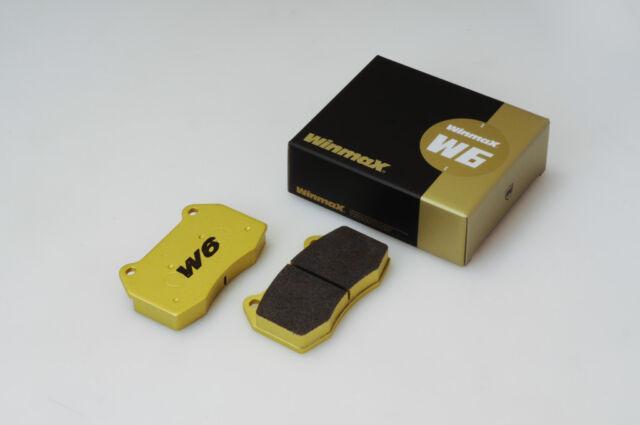 Winmax W6 Rear Brake Pad For ROADSTER 06.02- ROADSTER TURBO, TYPE-A, TYPE-S