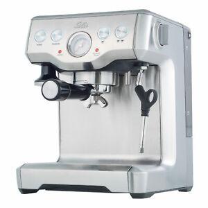 Solis-Caffespresso-Pro-Espressomaschine-Siebtrager-Espressomaschine-Edelstahl