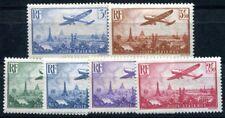 FRANKREICH 1936 305-310 * TADELLOSER SATZ FLUGPOST PA 8-13 170€(I2268
