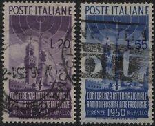 Repubblica - 1950 - Radiodiffusione - Serie completa usata - Sassone S.142