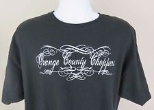 Orange County Choppers Black Short Sleeve Tee Shirt Size XL