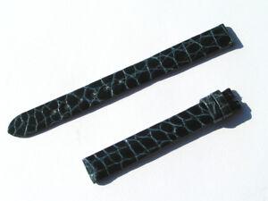 11mm-Chopard-Uhren-Armband-Ersatzband-Lederarmband-Croco-blau-70-105-new-C11-02