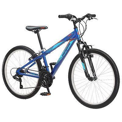 "24"" Mongoose Camrock Boy's Mountain Bike, Blue"