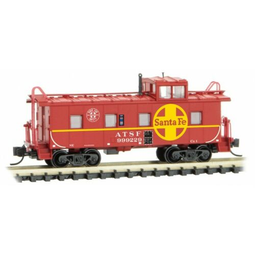 Topeka /& SF  36/' Riveted Steel Caboose N Micro Trains 100 00 470 ATSF Atchison
