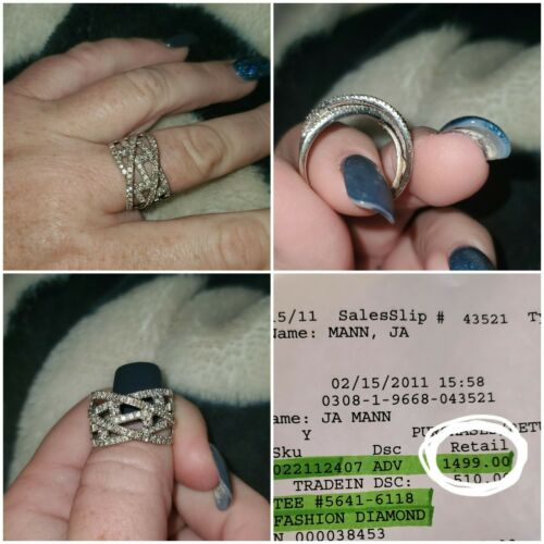 diamond fashion ring size 9