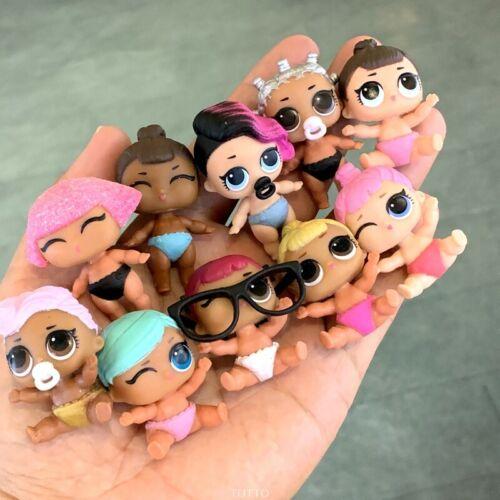 L.O.L LOL Surprise Dolls UNICORN Splatters BHADDIE Snow Bunny pet lil sister