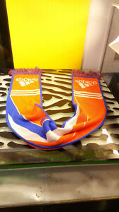 Adidas-UEFA-Euro-2012-Scarf-HOLLAND-Blue-Orange-Good-Condition-Soccer-Football