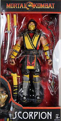 Mortal Kombat ~ 7-INCH SCORPION DELUXE ACTION FIGURE ~ McFarlane Toys