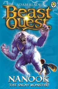 Beast-Quest-5-Nanook-the-Snow-Monster-Blade-Adam-New