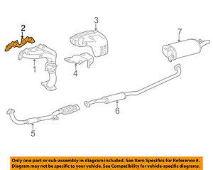 s l300 toyota oem 92 01 camry exhaust manifold gasket 1717374040 ebay