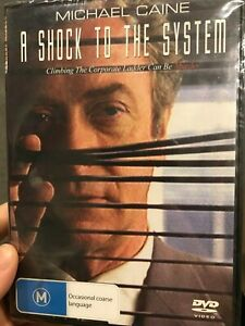 A-Shock-To-The-System-NEW-sealed-region-4-DVD-1990-Michael-Caine-movie-cheap