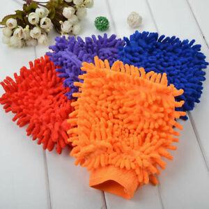 Car-Wash-Washing-Microfiber-Chenille-Mitt-Auto-Cleaning-Glove-Dust-Washer-Best