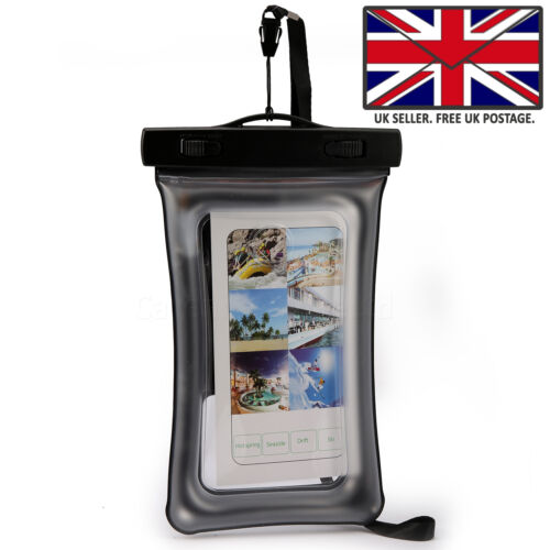 WATERPROOF FLOATING DRY BAG POUCH CASE MONEY KEYS CARDS For Samsung Galaxy S10e