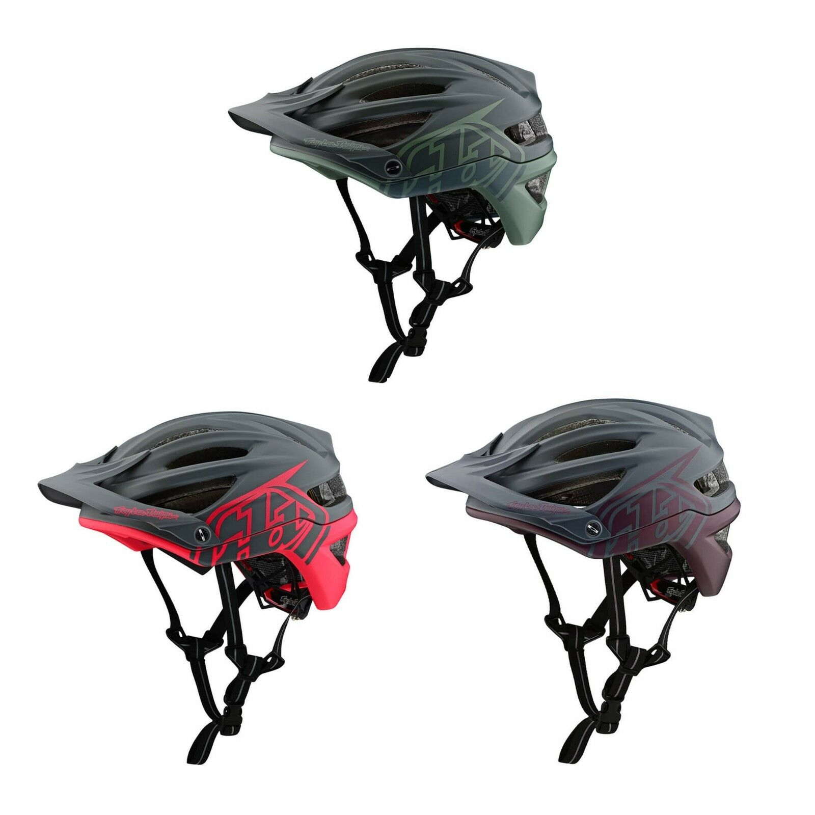 2019 Troy Lee Designs A2 Decoy Mips Mountain Bike Casco bicicletta ciclismo ciclo
