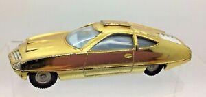 VINTAGE-Dinky-Toys-352-SHADO-UFO-ED-strakers-veicolo-GOLD-SPACE-AUTO-1999-RARA