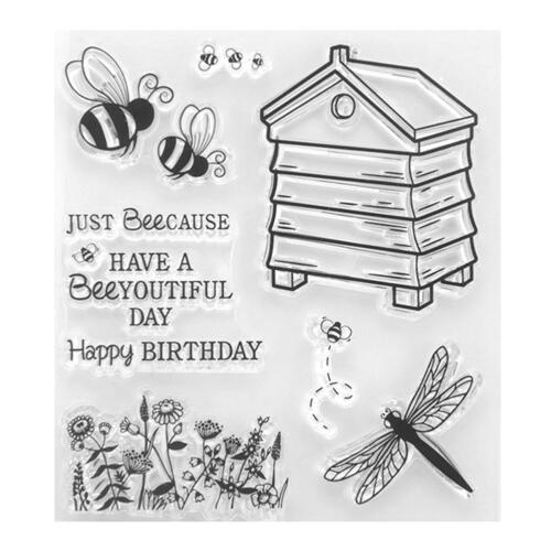 Animal Silicone Clear Stamps for DIY Scrapbooking Photo Album Cards Craft  NIGH