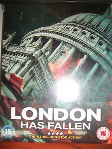 London-Has-Fallen-Steelbook-Edition-Blu-ray-NEW-Sealed-REGION-B-OOP
