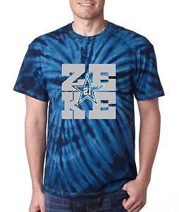 """Navy Ezekiel Elliott Dallas Cowboys /""""ZEKE/"""" T-shirt jersey S-5XL"""