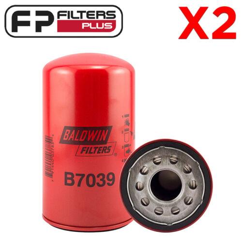 Z642 7.3L F250 P550371 F4TZ6731A 2 x B7039 Baldwin Oil Filter LF3630 AFL72MC