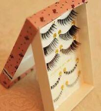 5 Pairs Of Top & Bottom False Eyelash Set Handmade Natural Lash Uk Seller !!!!