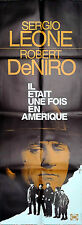 1984 ONCE UPON A TIME IN AMERICA Robert De Niro Leone French door movie poster
