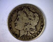 1887-O TOP 100 VAM 2 DOUBLED 1 TRIPLE 7 MORGAN SILVER DOLLAR U.S. COIN 1887 O