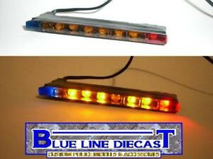 1-18-Flashing-LED-Police-Interior-Traffic-Advisor-Lightbar-Custom-Diecast-Models