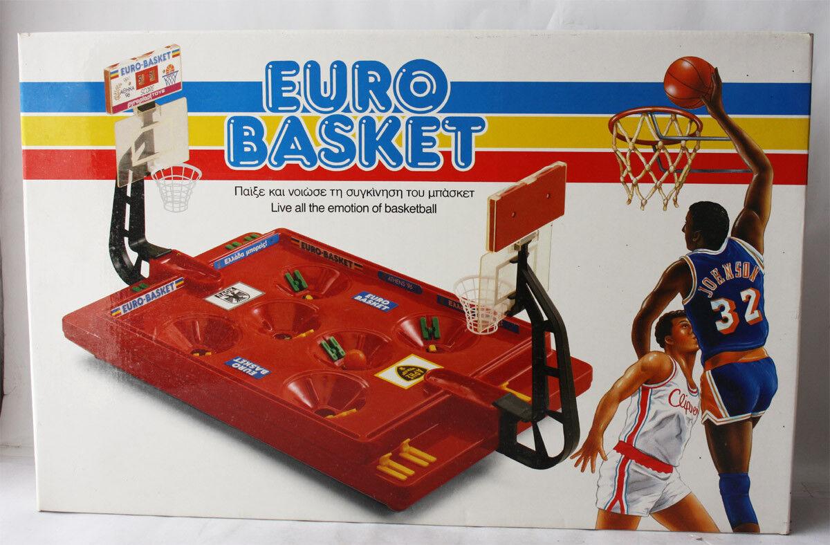 RARE VINTAGE 90'S EURO BASKET STADIUM BOARD GAME PYROPLAST GREECE GREECE GREECE GREEK NEW 607c74