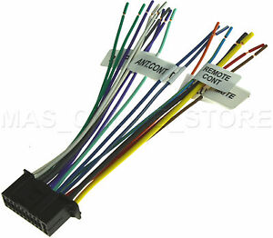 Image is loading 22PIN-WIRE-HARNESS-FOR-KENWOOD-DDX-6019-KVT-
