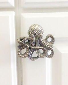 Superieur Image Is Loading Octopus Bathroom Decor Kraken Drawer Pull Octopus Cabinet
