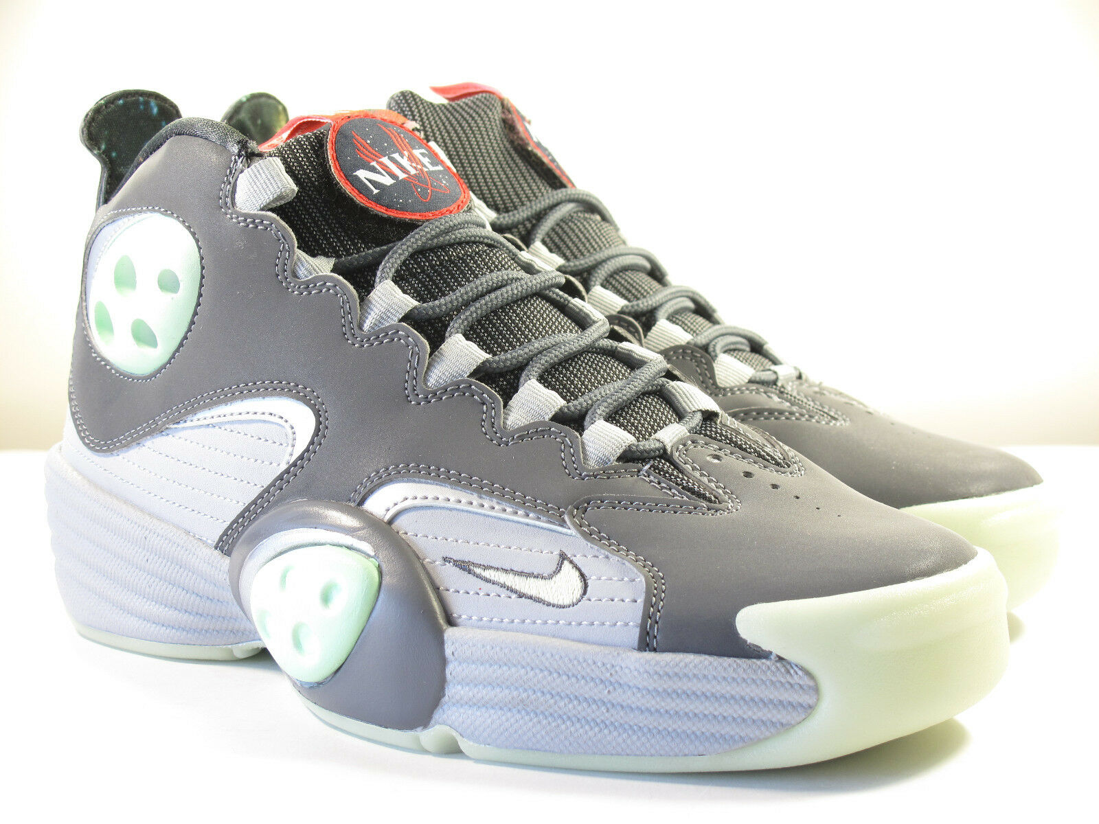 DS NIKE 2011 AIR FLIGHT ONE GALAXY WOLF GREY 8.5 PENNY MAX FOAMPOSITE FORCE 1