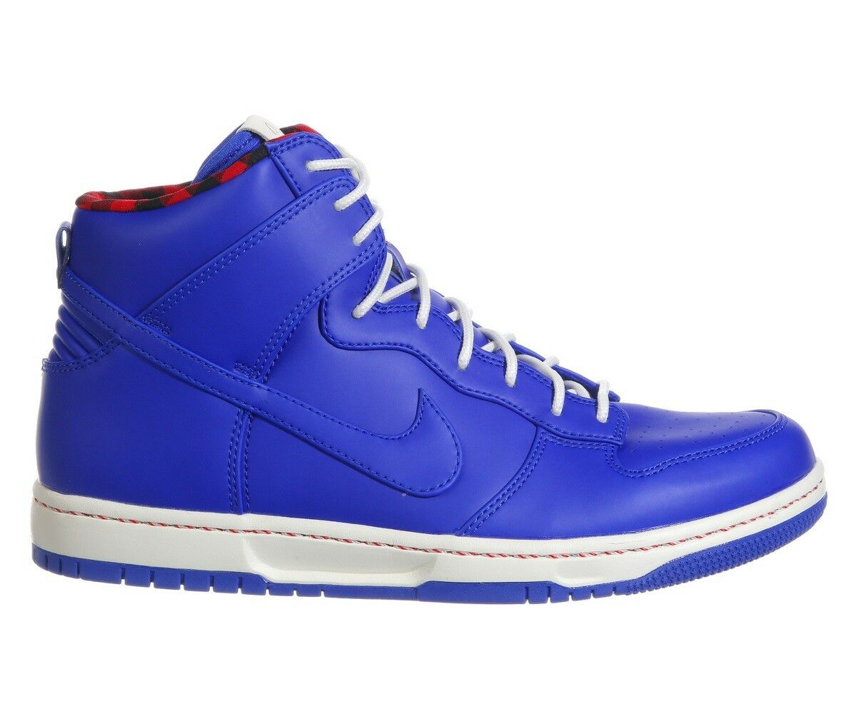Nike Dunk Ultra Mens 845055-400 Racer Blue Sail Red Leather Shoes Size 9