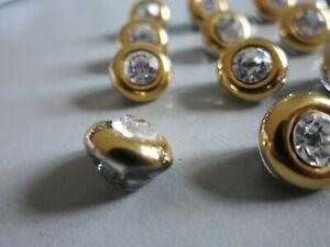 20-goldene-Knoepfe-mit-StrassSteinen-ca-1cm