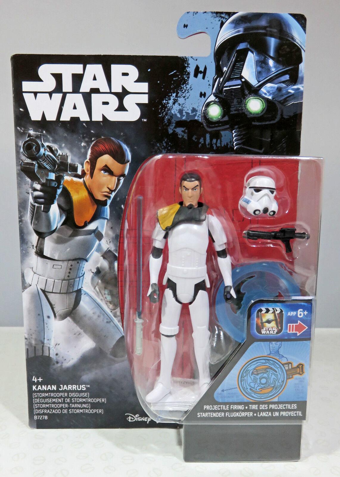 "Kanan Jarrus - Hasbro 2016 Stormtrooper Disguise Star Wars Rebels 3.75/"""