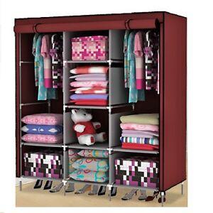 Super- Folding Wardrobe Cupboard Almirah-Xi- Cf