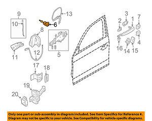 bmw oem 07 13 328i door lock cylinder left 51217199853 ebay rh ebay com Door Lock Parts Diagram bmw e46 door lock wiring diagram