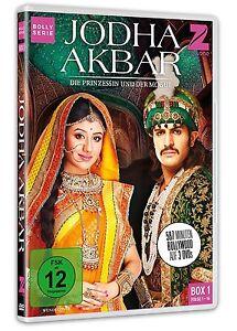 Jodha-Akbar-Die-Prinzessin-und-der-Mogul-Box-1-Bollywood-3-DVD-NEU-OVP