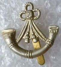 Badge- Light Infantry Brigade Officer's Cap badge (White Metal)