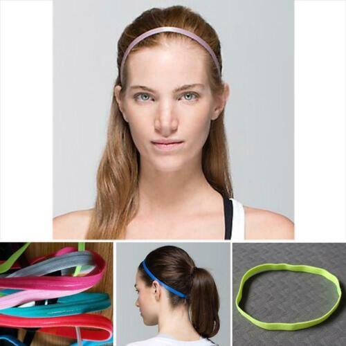 Women Men Boy Kids Sports Yoga Stretch Headband Elastic Accessories Hair Ba N9F7