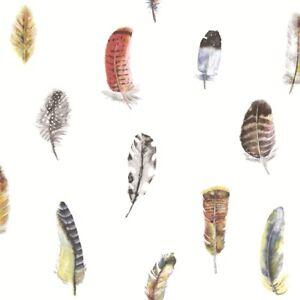 Essener-Tapete-Global-Fusion-G56401-Feather-Bird-Feather-White-Fleece-Wallpaper