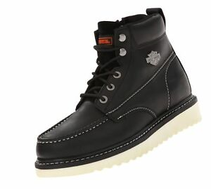Harley-Davidson Men's Beau Boot Black 8 D(M) US