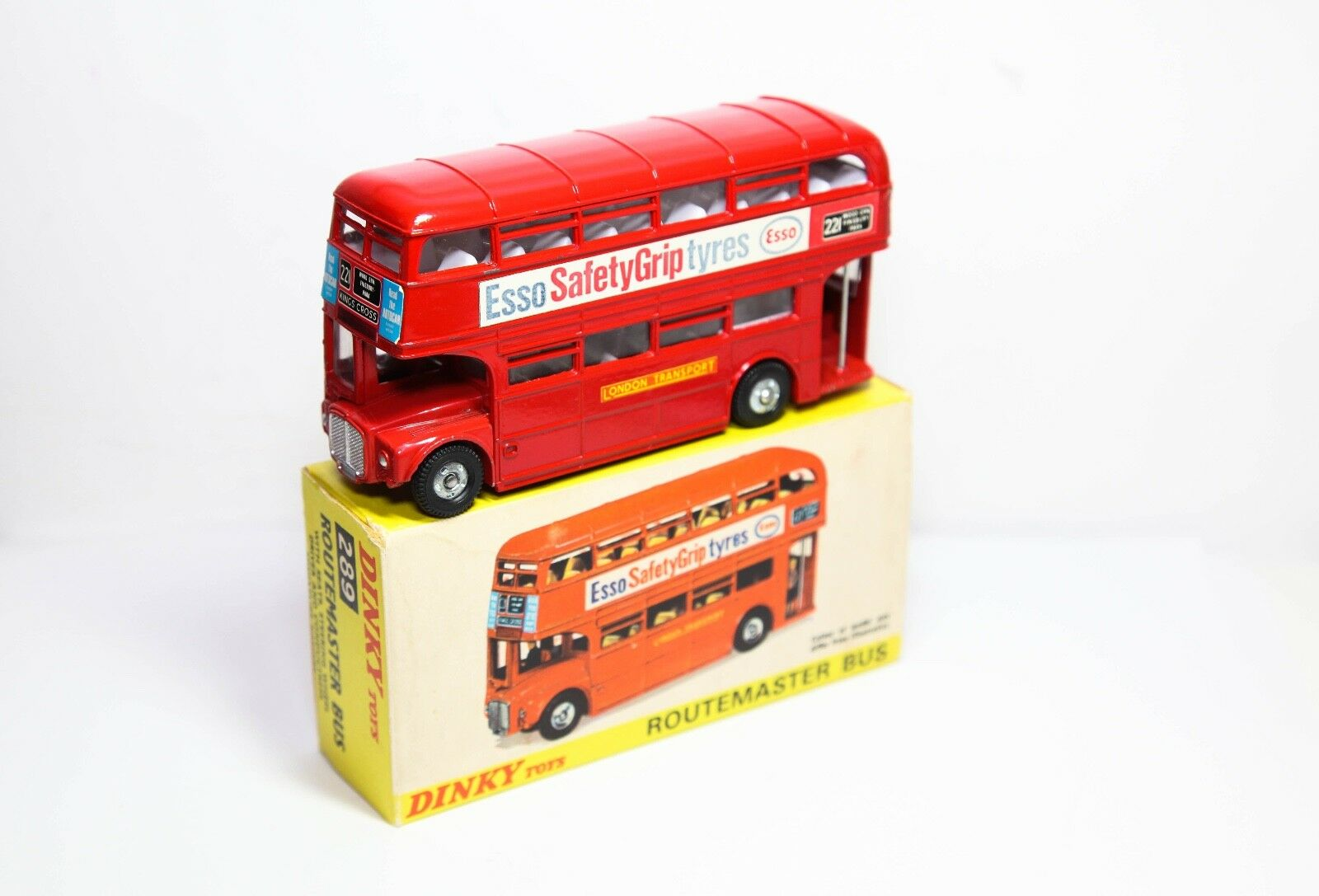 Dinky 289 Routemaster Bus ESSO In Original Box - Near Mint Vintage Original
