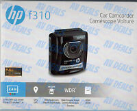 Hp F310 Car Camcorder 1080 Fullhd 1920x1080 Wdr Lcd Color Mobile / Auto Camera