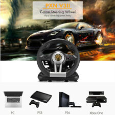 PXN V3II Racing Game Steering Wheel with Brake Pedal for PC PS3 PS4 and Xbox One