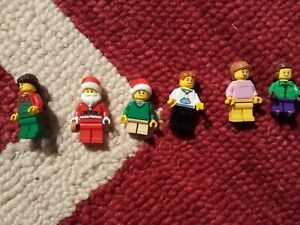 LEGO MARIACHI Santa Claus with Chihuahua minifigure minifig Christmas