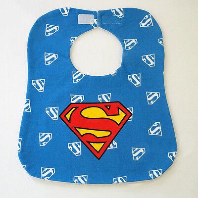 Marvel DC Comic Superhero Baby Boy Girls Kids Child Bibs Saliva Burp Apron Scarf