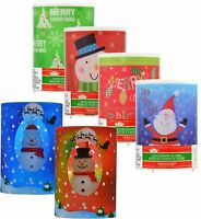 Christmas Holiday Color Changing Flickering Led Flameless Candles 4 X 3 Decor
