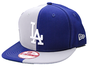 ea69364223f Los Angeles LA Dodgers New Era 9Fifty Split Em MLB 2 Tone Snapback ...