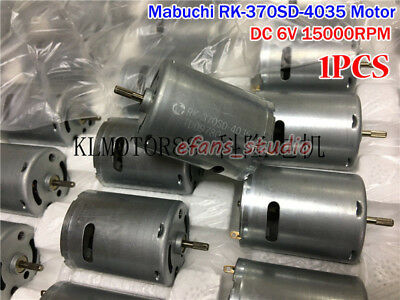 MABUCHI RK-370SD-4035 DC 3V 3.7V 5V 6V 15000RPM High Speed Carbon Brush DC Motor